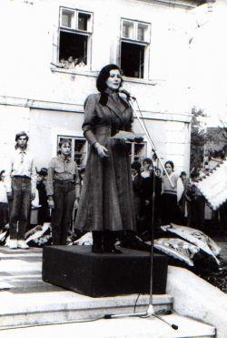 Bernády György szobrának felavatása - Marosvásárhely